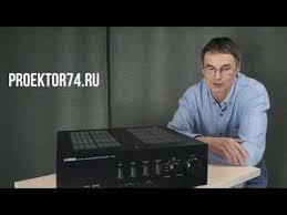 <b>Yamaha A-S801</b>, обзор интегрального стерео усилителя ...