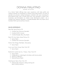 nice salon and hair stylist resume sample list of work nice salon and hair stylist resume sample list of work experience for job seekers