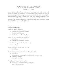 nice salon and hair stylist resume sample list of work nice salon and hair stylist resume sample list of work experience for job seekers