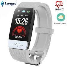 Longet <b>Smart</b> Band M4 Blood Pressure Call Reminder <b>Fitness</b> ...