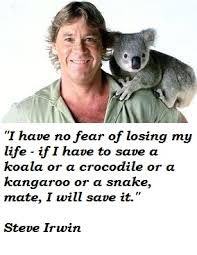 Steve Irwin's quotes, famous and not much - QuotationOf . COM