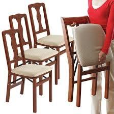 <b>Folding Dining Chairs</b> - Set of <b>6</b> - Scotts of Stow