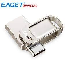 Eaget CU31 <b>OTG</b> USB3.1 <b>Flash</b> Drive Mini <b>Flash</b> Disk <b>Type C</b> High ...