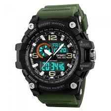 SKMEI 1283 50m <b>Waterproof</b> Men's <b>Digital</b> Sports Watch With EL ...