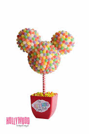 best images about candy shop frozen yogurt disney inspired mickey or minnie mouse centerpiece candy topiary candy buffet decor candy arrangement