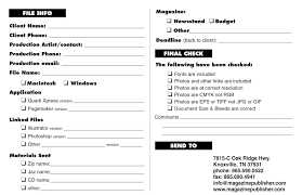 magazine publisher com s forms job submission form