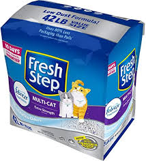 Fresh Step Multi-Cat Scented Litter with the Power of ... - Amazon.com