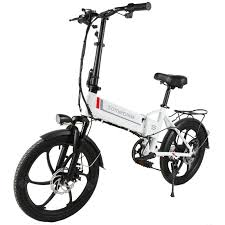 <b>Samebike 20LVXD30 Smart</b> Folding Electric Moped Bike E-bike 3-5 ...