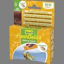 <b>Tetra FreshDelica Daphnia корм</b> дафния в желе 48 г