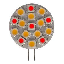 <b>G4</b> Horizontal <b>16 LED</b> Red/White dual mode - Bedazzled <b>LED</b> Lighting