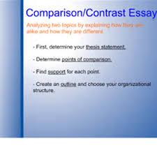steps writing a comparison contrast essay writing comparison and  steps writing a comparison contrast essay writing comparison and contrast essays