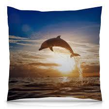 Подушка 40×40 см с полной запечаткой Дельфин #1778593 в ...