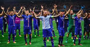 Iceland's epic 'viking clap' celebration <b>caps off</b> a dream summer at ...
