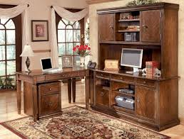 stunning ashley furniture home office with wood office desk also with cabinet combine with brown laminate flooring ak1340 designer office desk