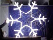 Световые <b>снежинки</b> из дюралайта,<b>светодиодная снежинка</b> ...