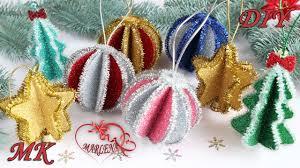 <b>Новогодние елочные игрушки</b> Шары, Звездочки, Елочки из ...