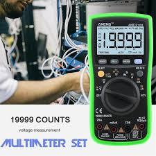 Auto Range <b>Digital</b> Precision Multimeter <b>19999 COUNTS</b> True-RMS ...