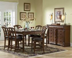 Dining Room Accent Furniture English Manor Counter Height Dining Room Set Counter Height