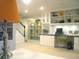 home office basement ideas basement transitional with mirrored cabinet floor mirror low ceiling basement office design ideas