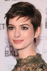 ... since the 1920s when flapper girls started wearing the look. A pixie is the basic bold and fierce short hairstyle. Anne Hathaway loves the pixie haircut - Anne-Hathaway-loves-the-pixie-haircut
