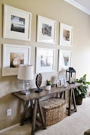 chic large wall decorations living room: entry way living room decor ikea picture frame gallery wall sofa table decor ashley furniture tucker up blog really like the sofa table