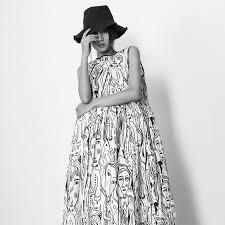 LANMREM <b>Round Neck Sleeveless Vest</b> Face Graffiti Print Woman ...