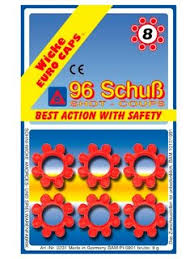 «Пистоны <b>Sohni</b>-<b>Wicke</b> 8-зарядные, 96 штук, в блистере ...