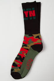 <b>Носки CAYLER & SONS</b> Bklyn Socks Black/Forrest Green/Red ...