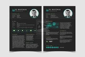 disc jockey resume clean and minimal dj resume template included short e 39 s resume by qingyunliuliu