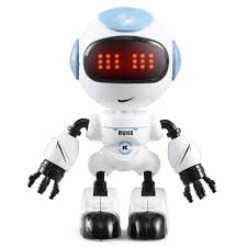 <b>JJRC R8</b> Touch Sensing LED Eyes Smart Voice RC Robot | Gearbest