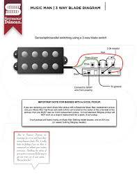 wiring diagrams seymour duncan part 2 music man 3 way blade diagram