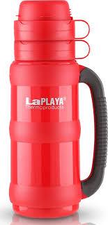 <b>Термос LaPlaya Traditional</b> Glass, цвет: красный, 1,8 л