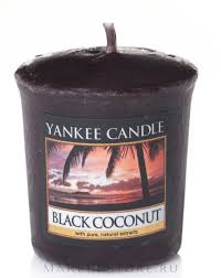 Yankee Candle Scented Votive <b>Black Coconut</b> - <b>Ароматическая</b> ...