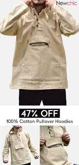 【47% off】<b>Mens</b> 100% Cotton National Style Long Sleeve Big <b>Pocket</b> ...