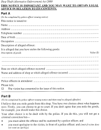 Shop Theft (<b>Alternative</b> Enforcement) Act 2000