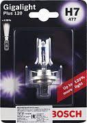 <b>Лампа</b> галогенная <b>Bosch</b> автомобильная <b>H7</b> 12V <b>55W</b> — купить в ...