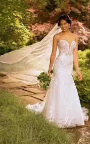 Mermaid Wedding Dresses | Trumpet Wedding Gowns | Essense of ...