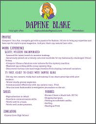resume companion scholarship fall winners announcement daphne blake resume
