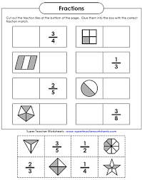 Super Teacher Worksheets | Basic Fraction Worksheets & ManipulativesFractions Worksheet