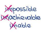 unachievable