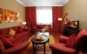 Red Color Bedroom Great Arabic Living Room With Red Sofa And Yellow Walls Red And