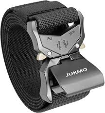 "JUKMO <b>Tactical Belt</b>, <b>Military</b> Rigger 1.5"" Nylon Web Duty Gun Belt ..."