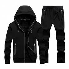 <b>Plus size</b> Sportswear <b>men's Sweatshirt</b> red black youth hooded ...