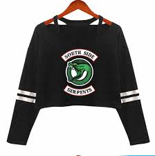 <b>2019</b> New <b>Riverdale</b> Crop Top <b>Hoodie Sweatshirts</b> Pullovers ...