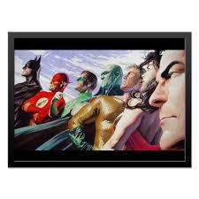 Холст 40x55 <b>Justice League</b>/<b>Лига Справедливости</b> #1662618 от ...