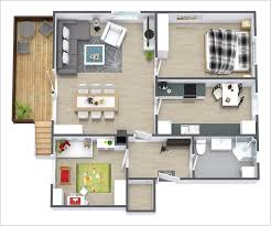 7 awesome 3d floor plans