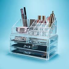 <b>Clear Acrylic</b> Make Up Organizer <b>Acrylic Cosmetic Box Clear Acrylic</b> ...
