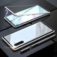 Магнитный <b>чехол</b> из закаленного стекла для <b>Samsung Galaxy</b> ...