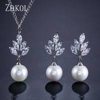 Zircon Jewelry Sets