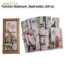 <b>30 PCs</b>/<b>lot Vintage</b> New Book Holder Office & School Supplies ...